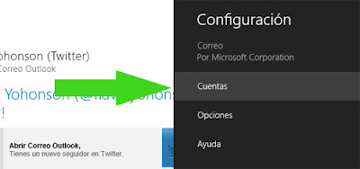 outlook correo app configuracion