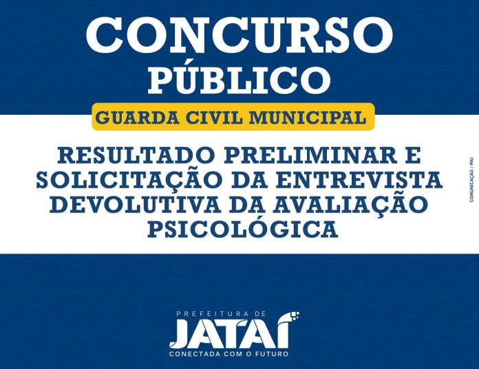 Concurso - Guarda Civil Municipal de Jataí