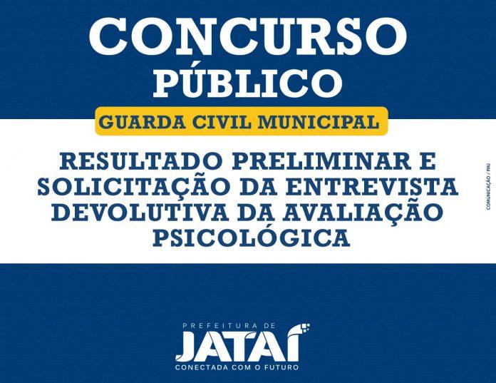Concurso - Guarda Civil Municipal de Jataí