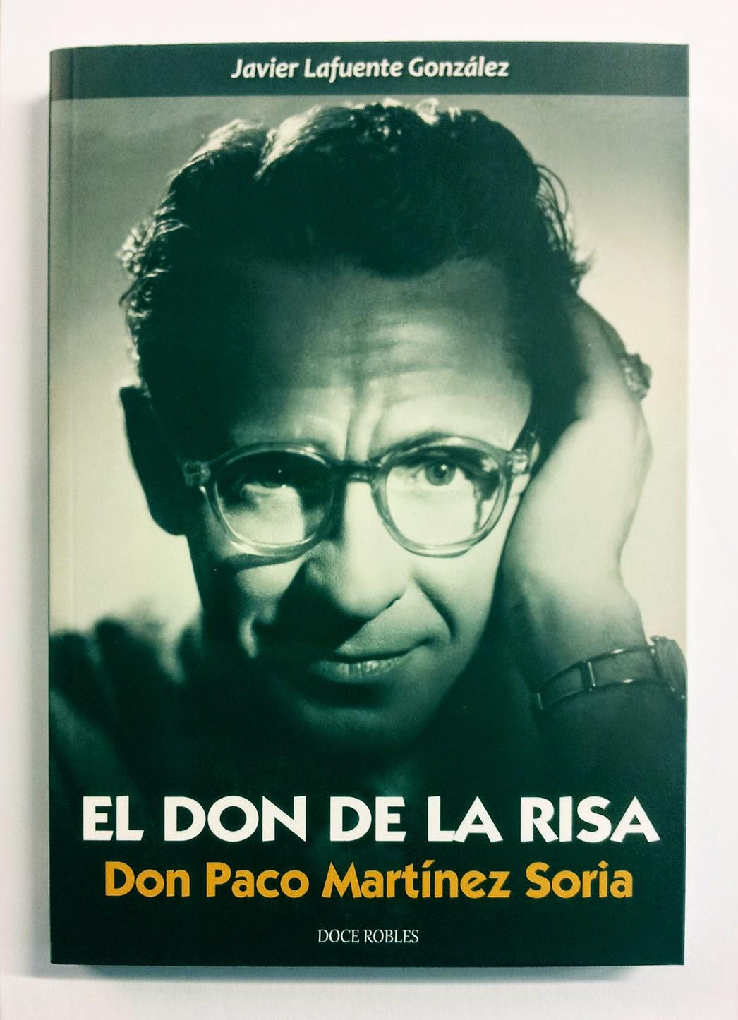 Portada del libro El don de la risa. Don Paco Martínez Soria
