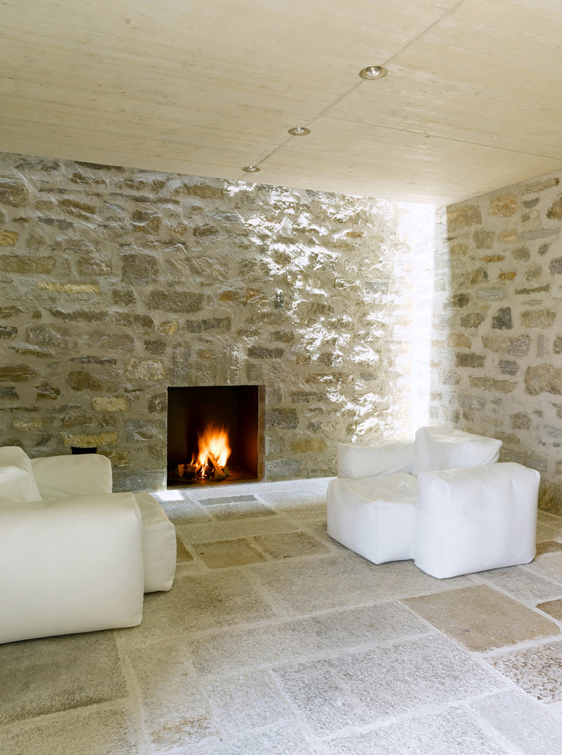Most beautiful houses in the world stone house switzerland for Stone house interior