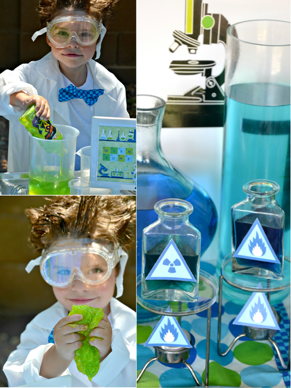 Mad Scientist Science Birthday Party Ideas Party Ideas