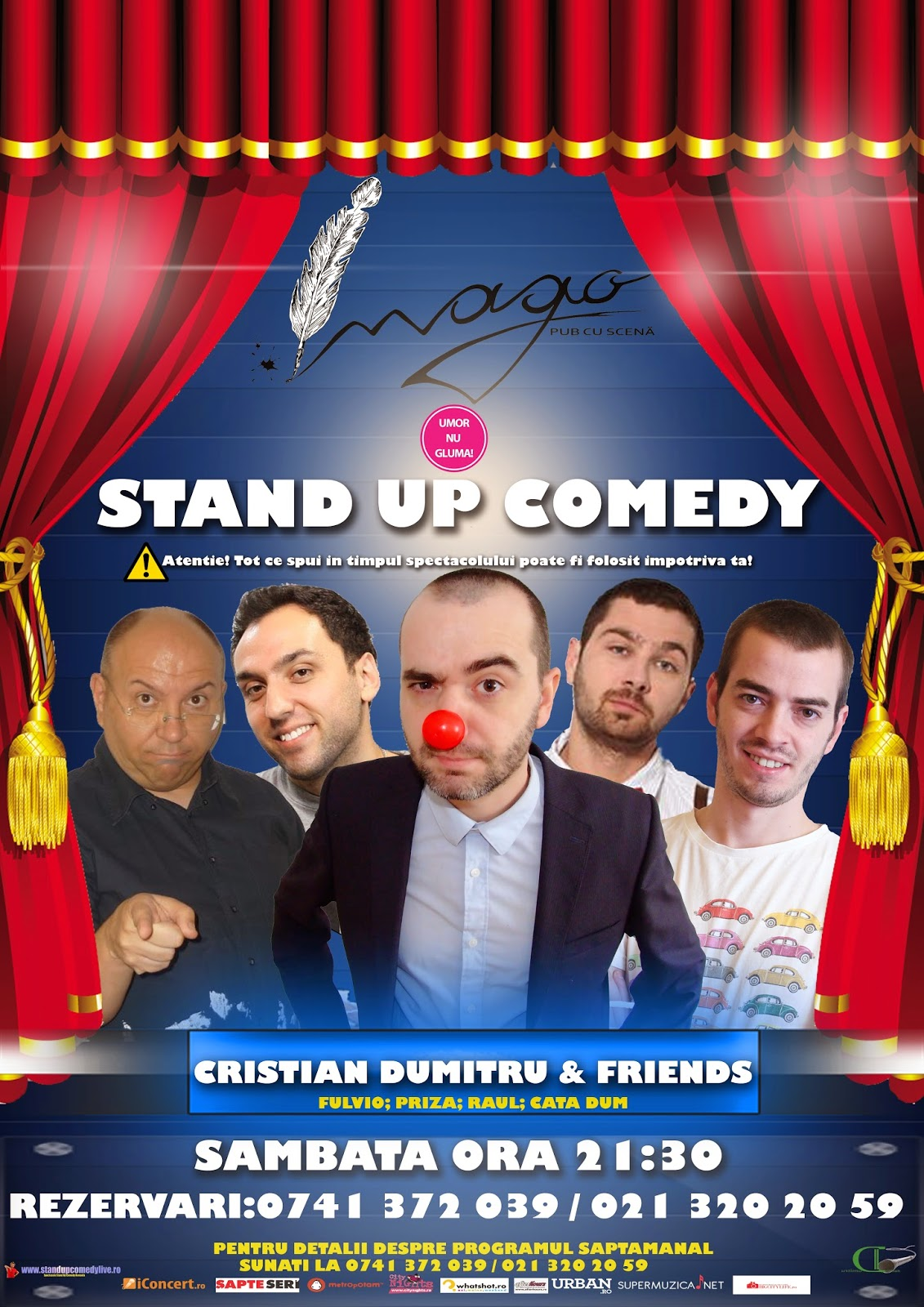 Stand-Up Comedy In fiecare Sambata