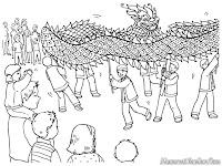 Menonton Pertunjukan Barongsai Dalam Perayaan Hari Imlek