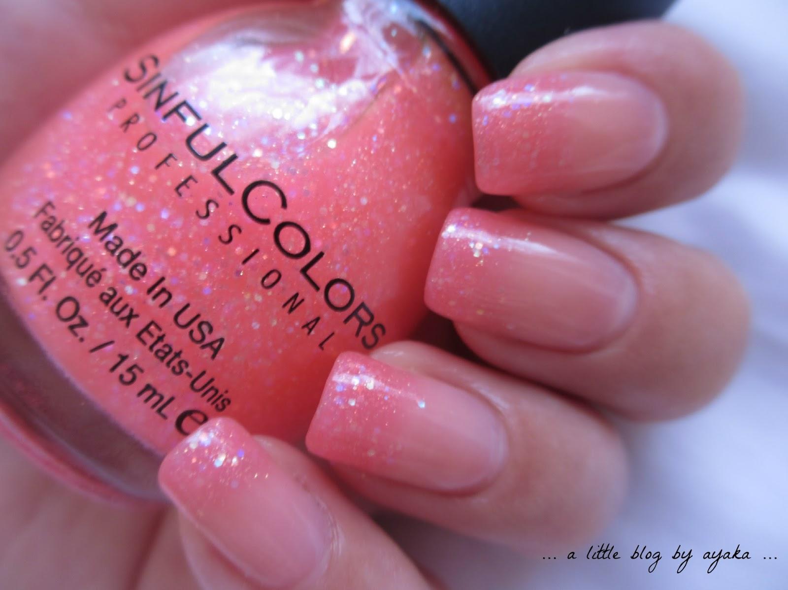 a little blog by ayaka      pink glitter ombre  u2665