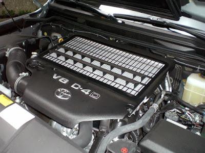 Foto Mesin Diesel Toyota Land Cruiser VX 200 Indonesia