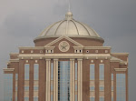 Dome of Civil Courthouse in Houston