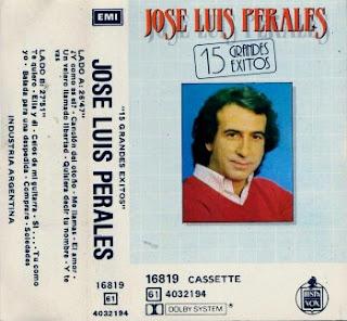 Carátula de José Luis Perales - 15 grandes éxitos (1982)