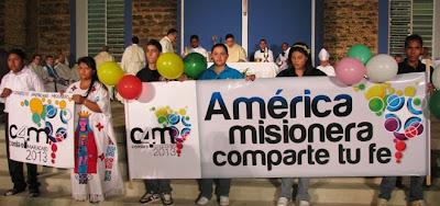 CAM 4 - Comla 9: América missionária, partilha tua fé