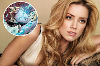 Amber Heard cast as Mera in Aquaman and Justice League