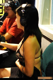 Penyiar Radio Dibugilin