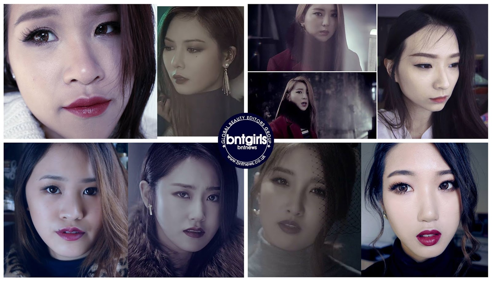 4Minute So Hyun 'Cold Rain' MV Inspired Makeup Look