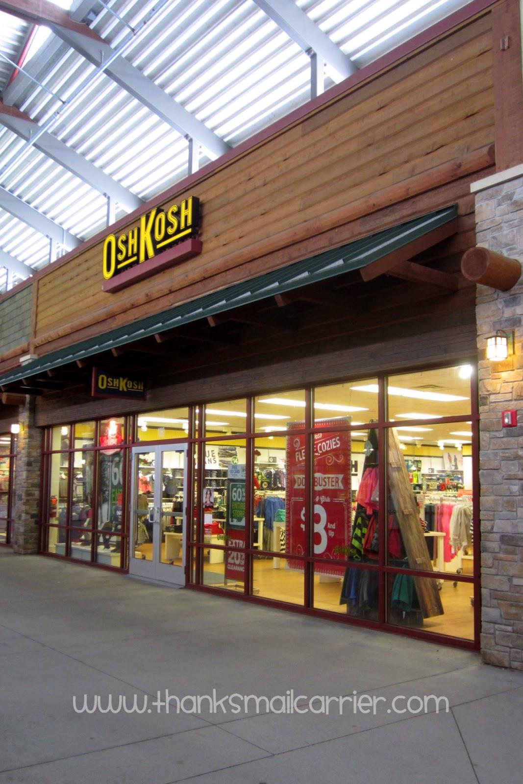 OshKosh stores