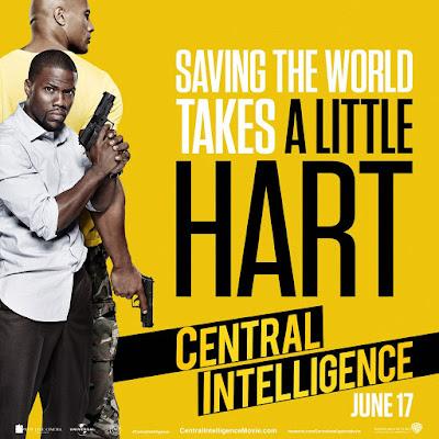 Primeras imágenes, pósters y tráiler de 'Central intelligence'