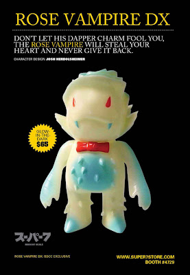 Super7 - San Diego Comic-Con 2011 Exclusive Rose Vampire DX by Josh Herbolsheimer