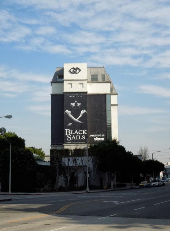 Giant Black Sails series premiere billboard