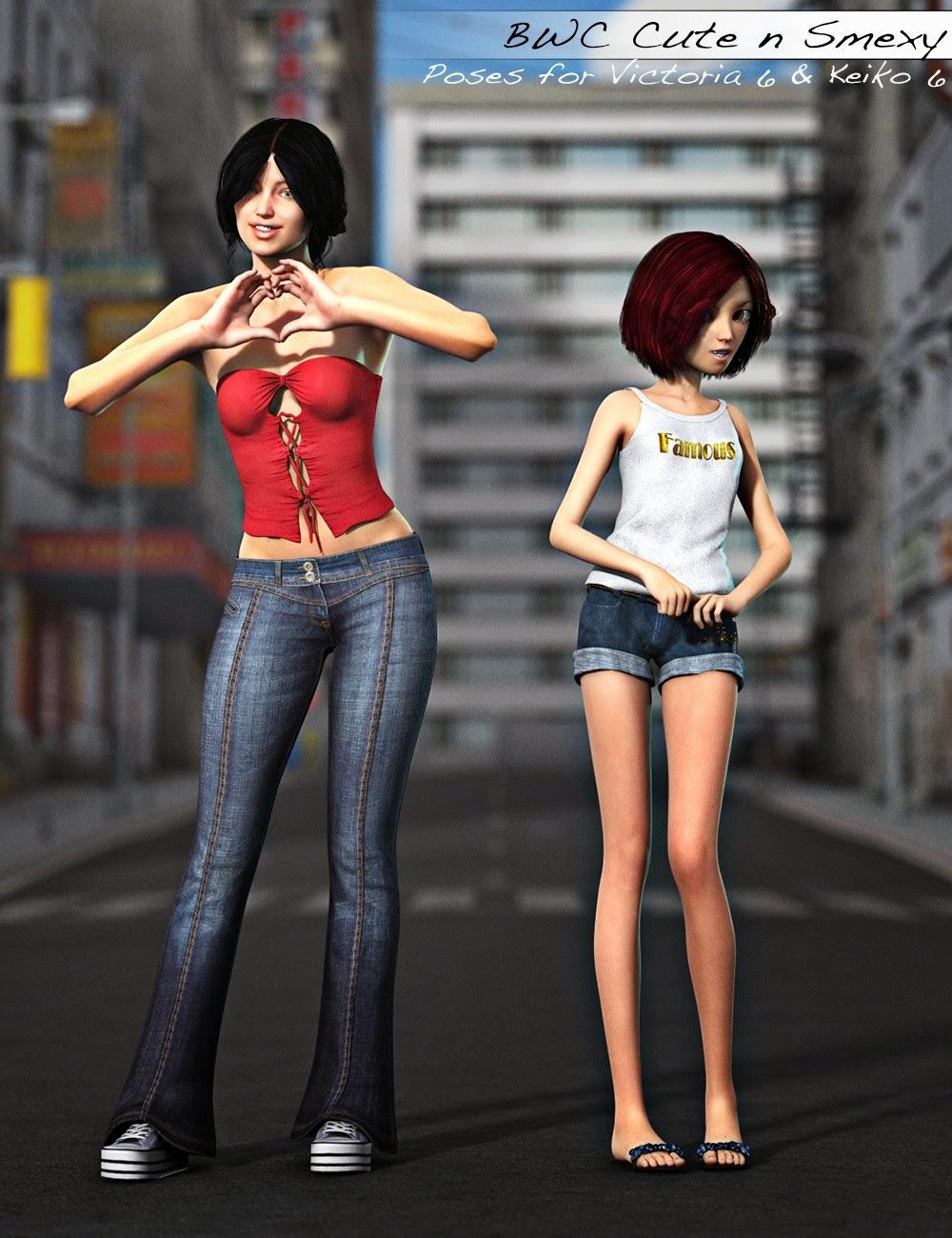 BWC Mignon n Smexy - Poses de Victoria 6 et Keiko 6
