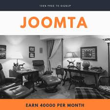 Earn up to N40,000 every month referring people to Joomta.com.