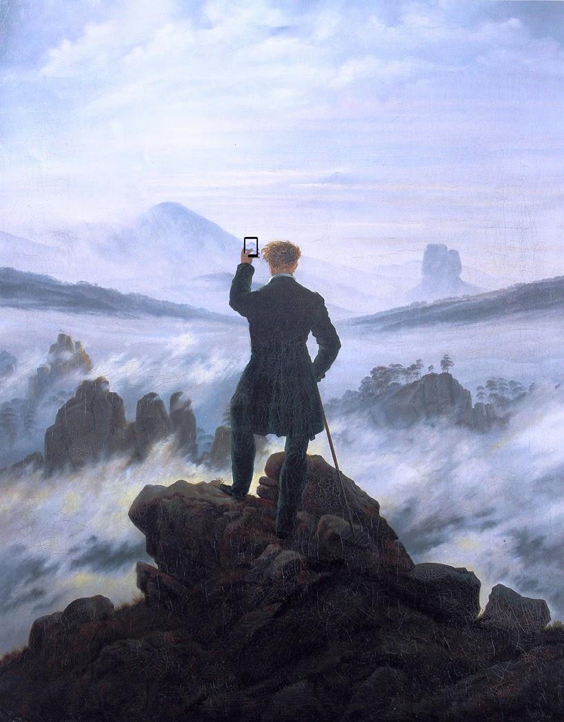 Каспар Давид Фридрих Странник над морем тумана (1817—1818)