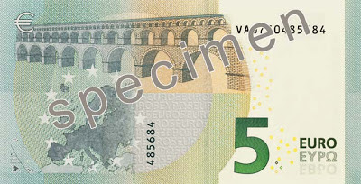 новая банкнота 5 евро