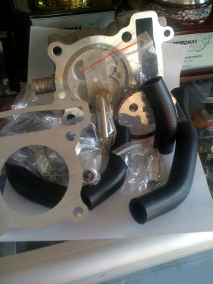 Paket Bore Up Jupiter Mx 195cc