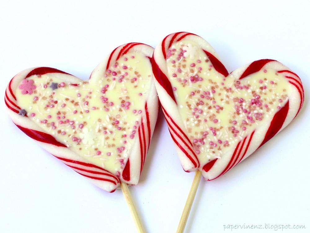 Chocolate Candy Cane Lollipops Recipe — Dishmaps