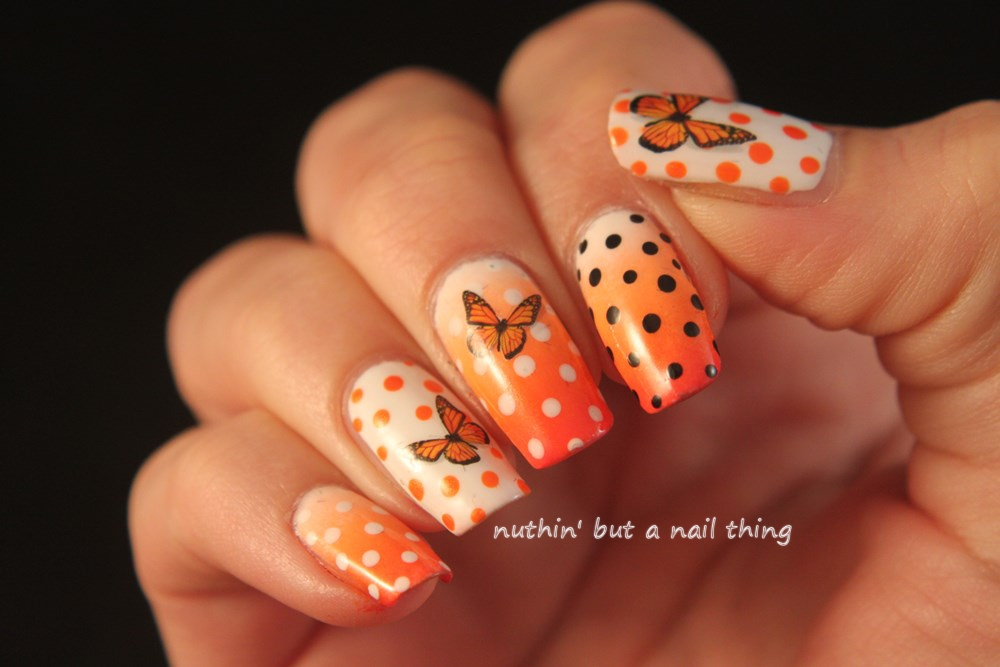 nuthin\' but a nail thing: Born Pretty Store - Butterfly Water Decals