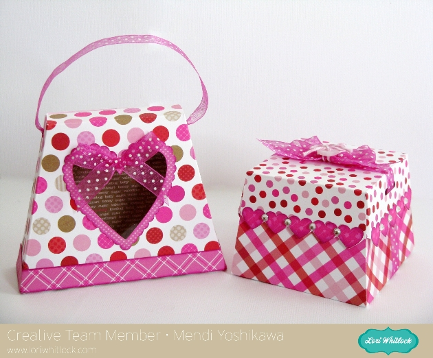 Snippets By MendiLori Whitlock Valentines Day Treat Boxes