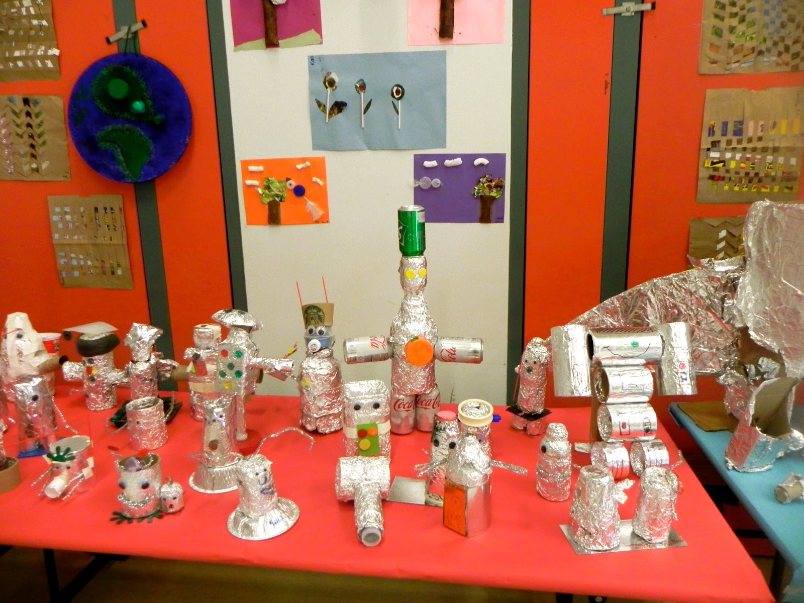 Art attack recycled art exhibition 2012 for Waste material items