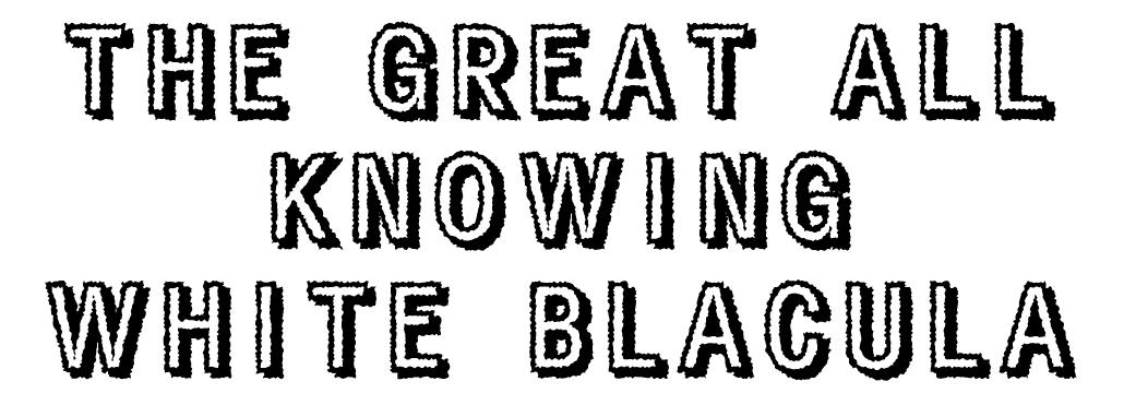 White Blacula