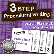 https://www.teacherspayteachers.com/Product/FREEBIE-3-Step-Procedural-Writing-Lesson-Mini-Book-1311148