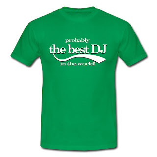 Koszulka Probably the best DJ in the world