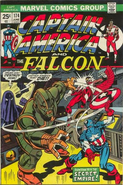 Captain America and the Falcon #174, the Secret Empire