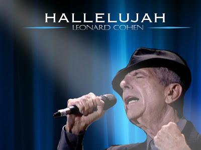 Hallelujah Leonard Cohen Music Letter Notation With Lyrics For