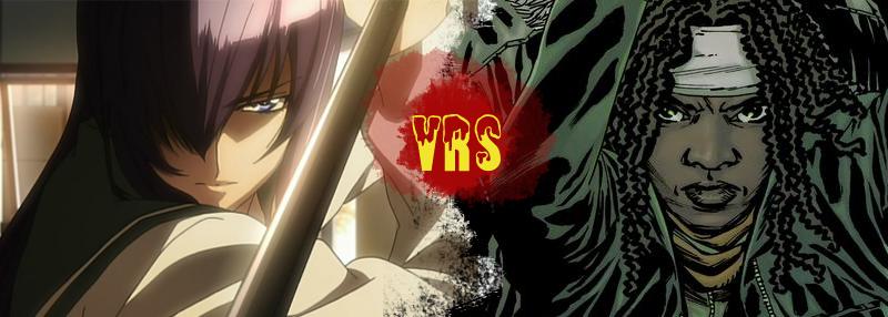 Saeko Busujima versus Michonne