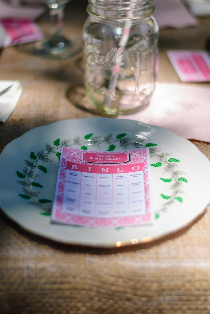 Bridal Shower Gift For My Best Friend : tickled pink: My Best Friends Bridal Shower