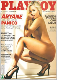 Revista Playboy Aryane Steinkopf Abril 2012 Completa