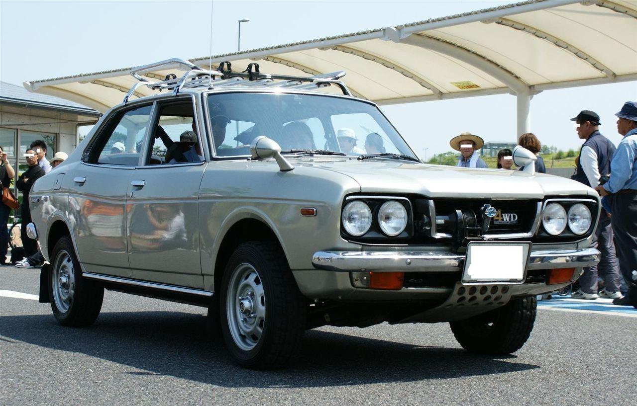 Subaru Leone, stary japoński samochód, oldschool