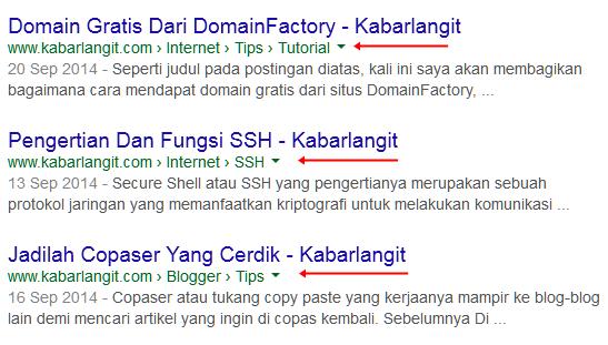 Cara Membuat Breadcrumbs Seo Terindex Google