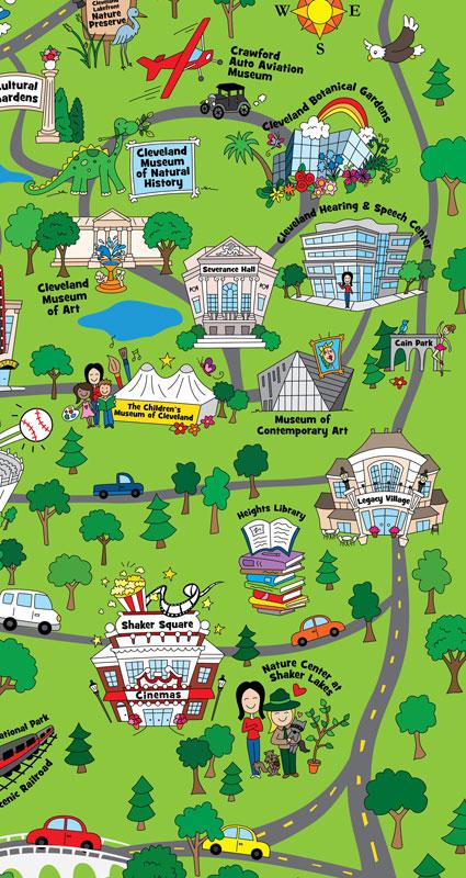 Broken Box Designs Blog Cleveland Childrens Map