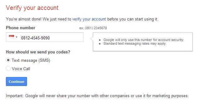 Cara Membuat Email Google 4