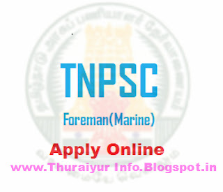 TNPSC Foreman(Marine) Apply Online