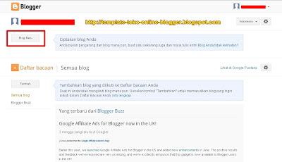 Cara Membuat Blog Di Blogspot Tampilan Terbaru 4