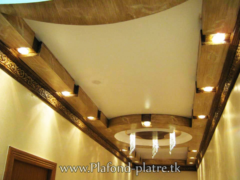 Faux plafond caract ristique architecturale faux plafond id al - Decoration des plafonds ...