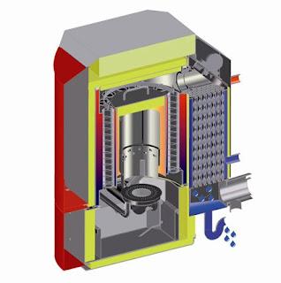 caldera pellets tecnología condensación