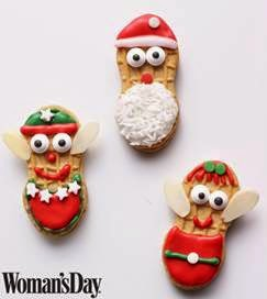 womans day elf cookies