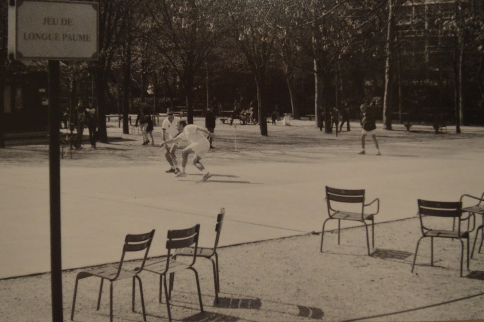 Photography: Jeu de Longue Paume in Luxembourg gardens, Paris