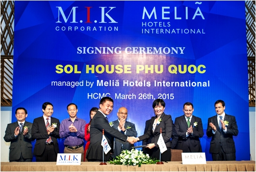 M.I.K Corporation ra mắt Resort Sol House Phú Quốc
