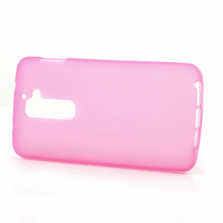 Frosted TPU Jelly Case for LG Optimus G2 D801 D802 - Pink