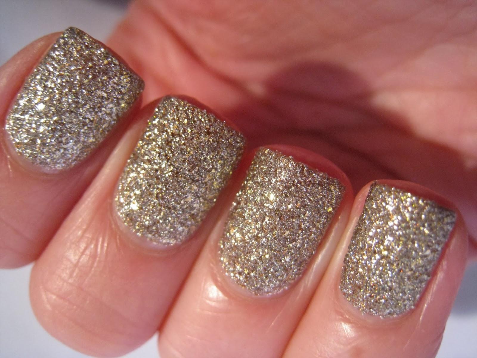 Boots-Seventeen-Charm-Bracelet-Textured-gold-nail-polish